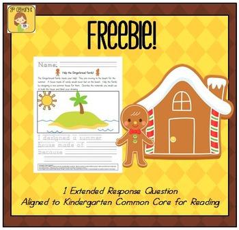 FREEBIE! Gingerbread Engineering STEM Activity and Extende