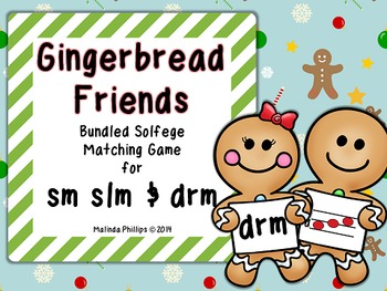 Gingerbread Friends: Bundled Melody Matching Game