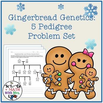 Gingerbread Genetics: Pedigree Challenge Problem Set