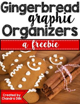 Gingerbread Graphic Organizers {freebie}