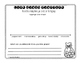 Gingerbread Graphing Activity