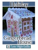 Gingerbread House Paper Craft Activity for the Holidays