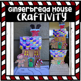 Gingerbread House Craftivity (craft + activity)