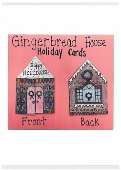 Gingerbread House Holiday Cards