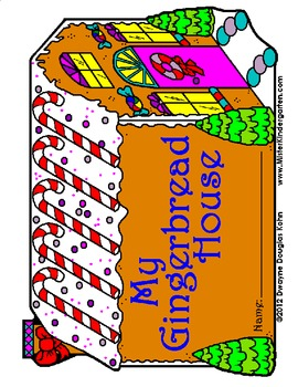 WEEKLY FREEBIE #3: Gingerbread House Stationery and Book Cover