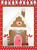 Gingerbread House with Writing Options