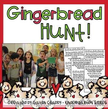 Gingerbread Hunt Signs