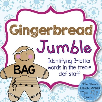 Gingerbread Jumble: Identifying 3-Letter Words in the Treb