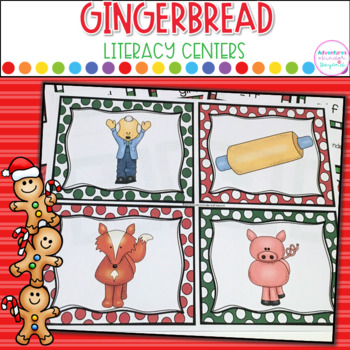 Gingerbread Literacy Centers