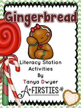 Gingerbread Literacy Stations