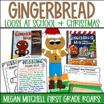 The Gingerbread Man Loose at Christmas~ Literature Connect