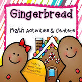 *** Gingerbread MEGA Math Activities & Centers