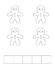 Gingerbread Man 5 Frame Book