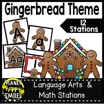 Alphabet Matching Cards ~ Gingerbread Man/Christmas