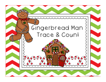 Gingerbread Man Count and Trace