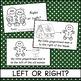 "Gingerbread Man Emergent Reader ""Left or Right?""-Practice"