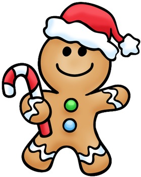 Gingerbread Man Lined Paper