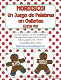 "Gingerbread Man ""Mordisco!"" {Spanish Version} Lista #2 {Un"