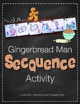Gingerbread Man Sequencing Activity  ***Also in my Gingerb