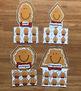 Gingerbread Man Shapes Sorting Mats