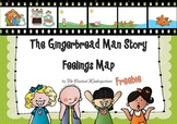 Gingerbread Man Story - Feelings Map Kindergarten and 1st