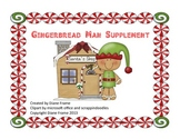 Gingerbread Man Unit Supplement