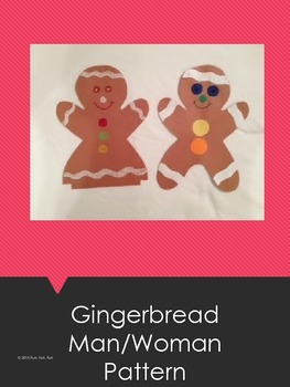 Gingerbread Man/Woman Pattern