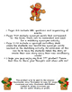 The Gingerbread Man by Mara Alperin Worksheets & Activities