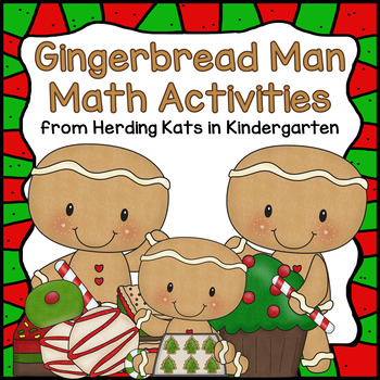 Gingerbread Math! Common Core Aligned Math Activities! #Ho