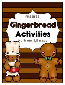 Gingerbread Math & Literacy Activities