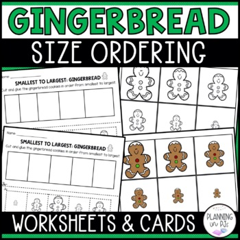 Gingerbread Men - From Smallest to Largest