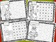 Gingerbread Number & Number Word Recognition Practice Shee