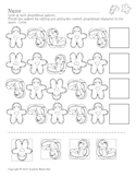 Gingerbread Pattern Work for Primary Grades