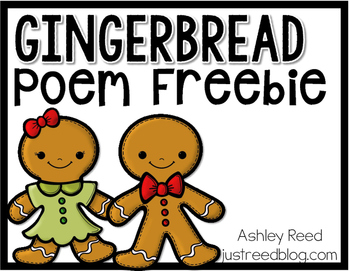 Gingerbread Poem FREEBIE