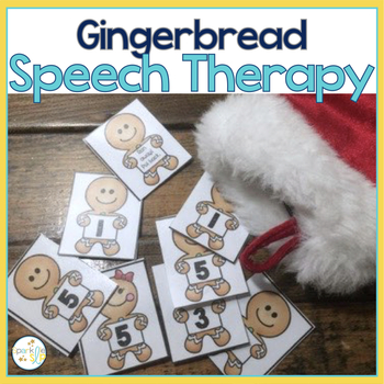 Gingerbread Speech and Language Themed Therapy Unit