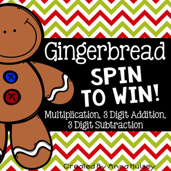Gingerbread: Spin To Win!