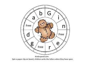Gingerbread Spinner