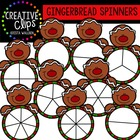 Gingerbread Spinners {Creative Clips Digital Clipart}