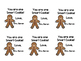 Gingerbread Sticky Note Freebie