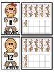 Gingerbread Ten Frames Matching Center