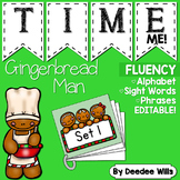 Dolch Word Fluency:  Time Me!  Gingerbread