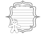 Gingerbread Writing Paper