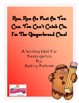 Gingerbread Writing for Kindergarten