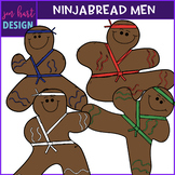 Christmas Gingerbread Men {Ninjabread}