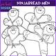 Christmas Gingerbread Men {Ninjabread}