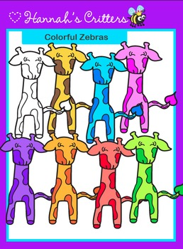 Giraffe {Colorful Safari Critters}
