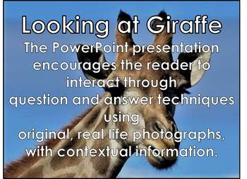 Giraffe - Interactive PowerPoint presentation