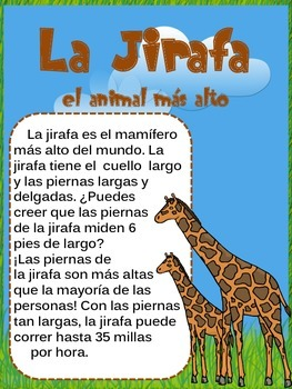 Giraffe Spanish Research Unit