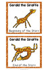Giraffes Can't Dance Character Traits Game
