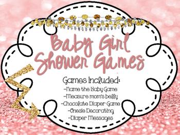 Girl Baby Shower Games